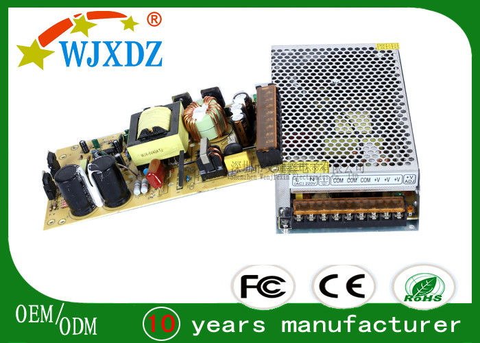 Ultra Weight 200W 40A Centralized Power Supply , LED Lighting high frequency switching power supplies