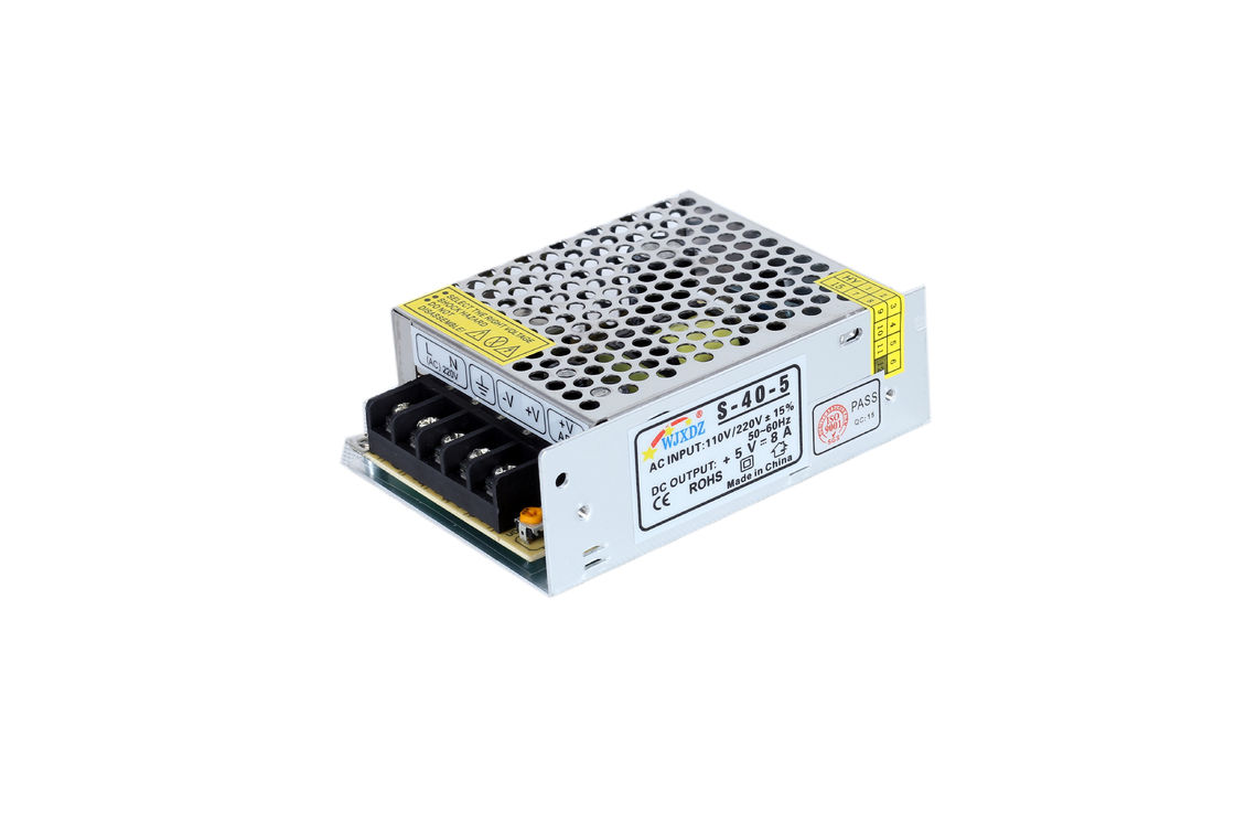 Compact Size LED Light Power Supply 40W 8A Suitable New Energy Industry